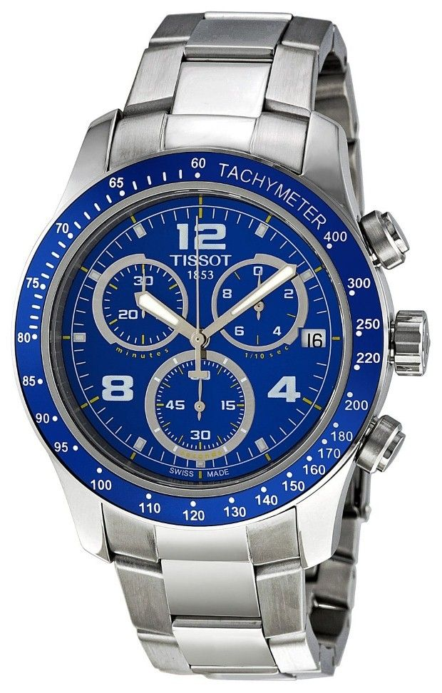 Tissot Men Watches : Blue watches men Tissot