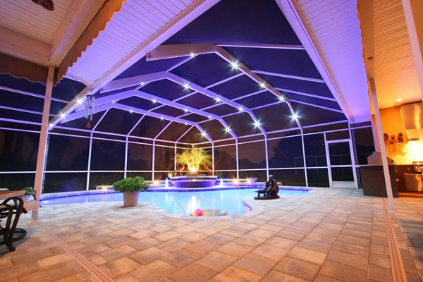 13 best nebula pool cage lighting images on pinterest on awesome deck patio outdoor lighting ideas that lighten up your space id=70850
