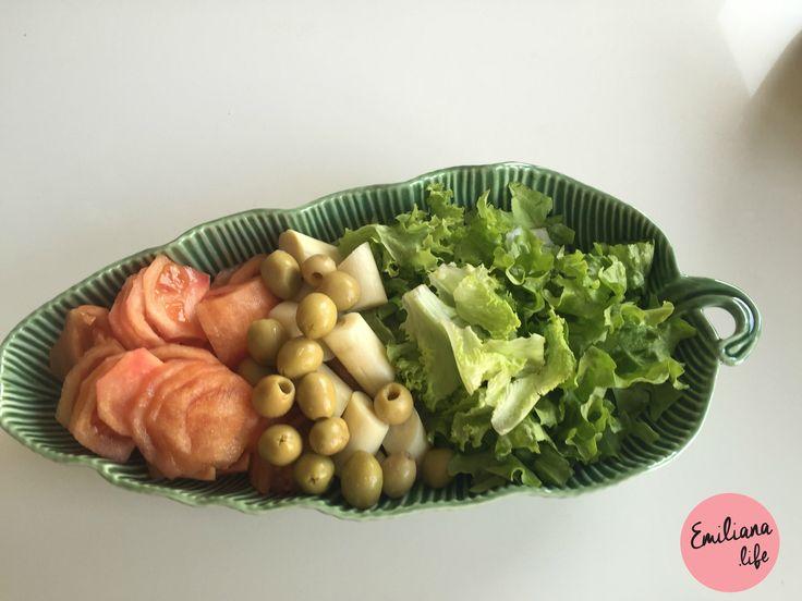 dica salada para acompanhamento de churrasco, asado, barbecue