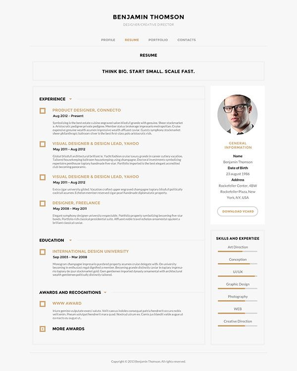 167 best images about resume inspirations on