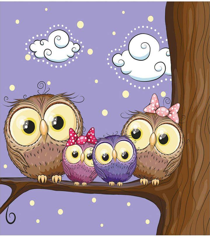 Картинка милые совы