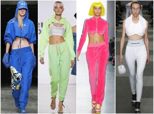 82aee6de87305 Pants Trend for FW18  Crop Top Tracksuit. 2000′s Juicy Couture ...