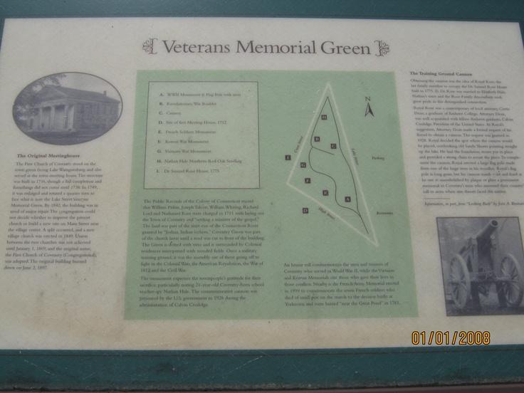 Veterans Memorial Green