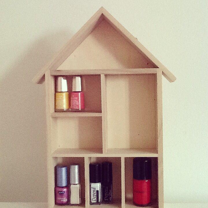 Nail polish house <3