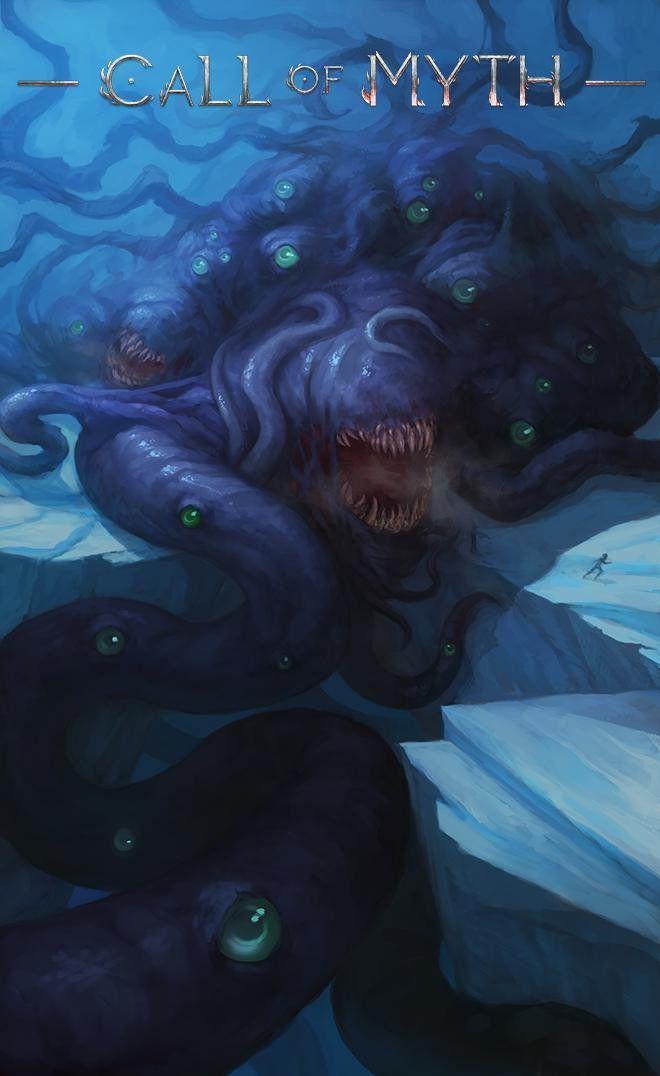 Shoggoth By Nika Kuznetsova In 2020 Lovecraft Cthulhu Eldritch Horror Lovecraft Art