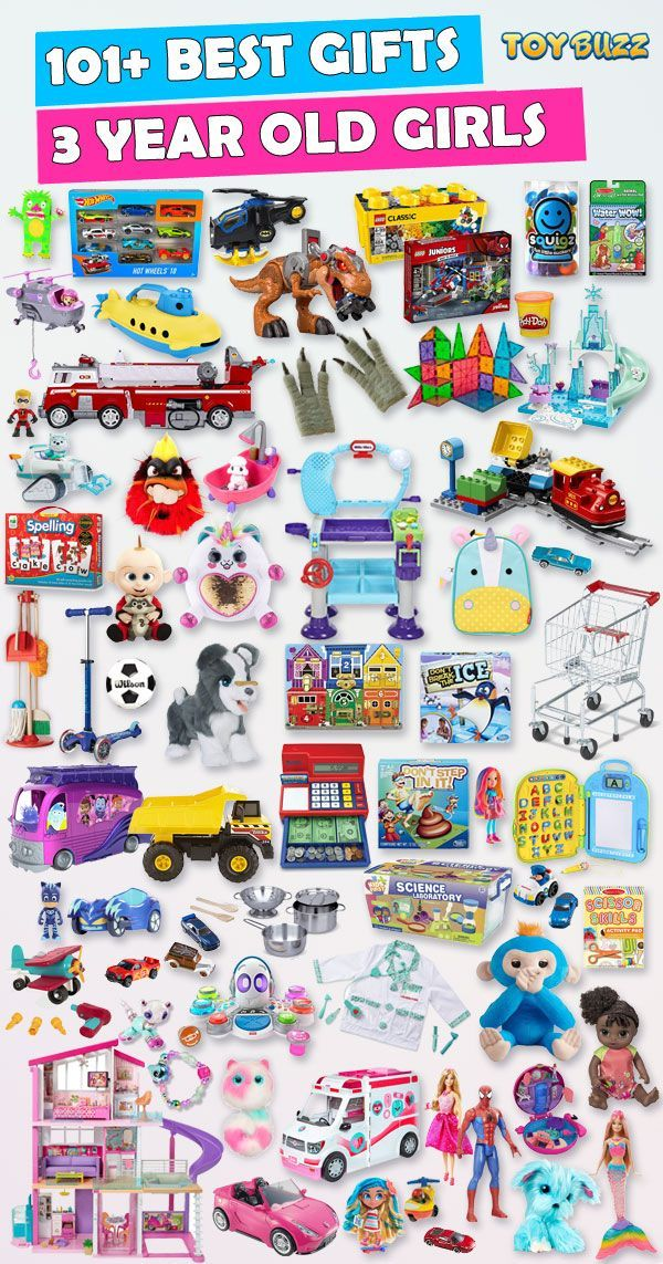 Gifts For 3 Year Old Girls 2020 – List of Best Toys | Gifts for 3