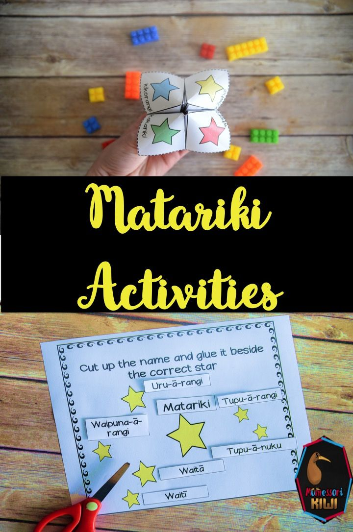 Matariki activities. Activities for students for years 1 - 8 in New Zealand Schools during the season of Matariki Maori New Year - Have a look at these worksheets, printables and activities