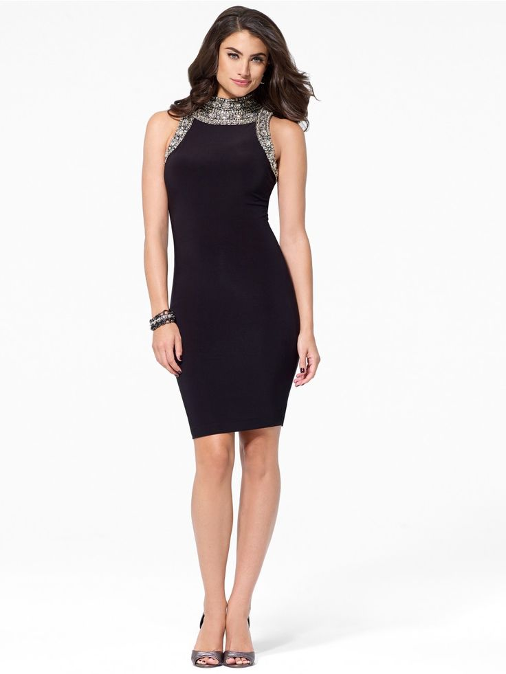 Beaded Cleopatra Collar Dress - Dresses