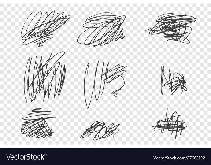 Random undigested scribbles Royalty Free Vector Image , # ...