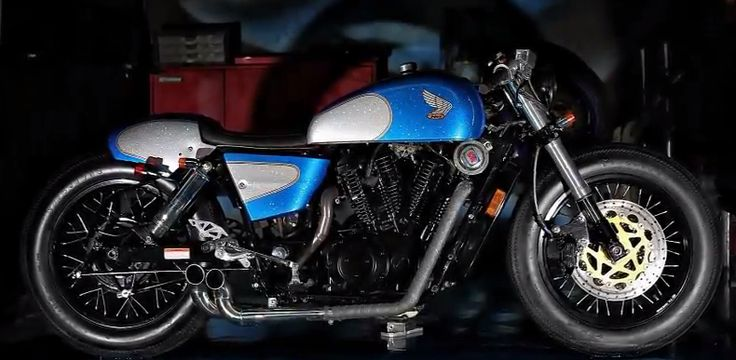 Honda VT1100 Cafe by Studio Motor