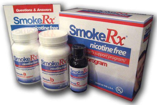 SmokeRx Quit Smoking Pills Product Program | Stop Smoking | Natural Health |