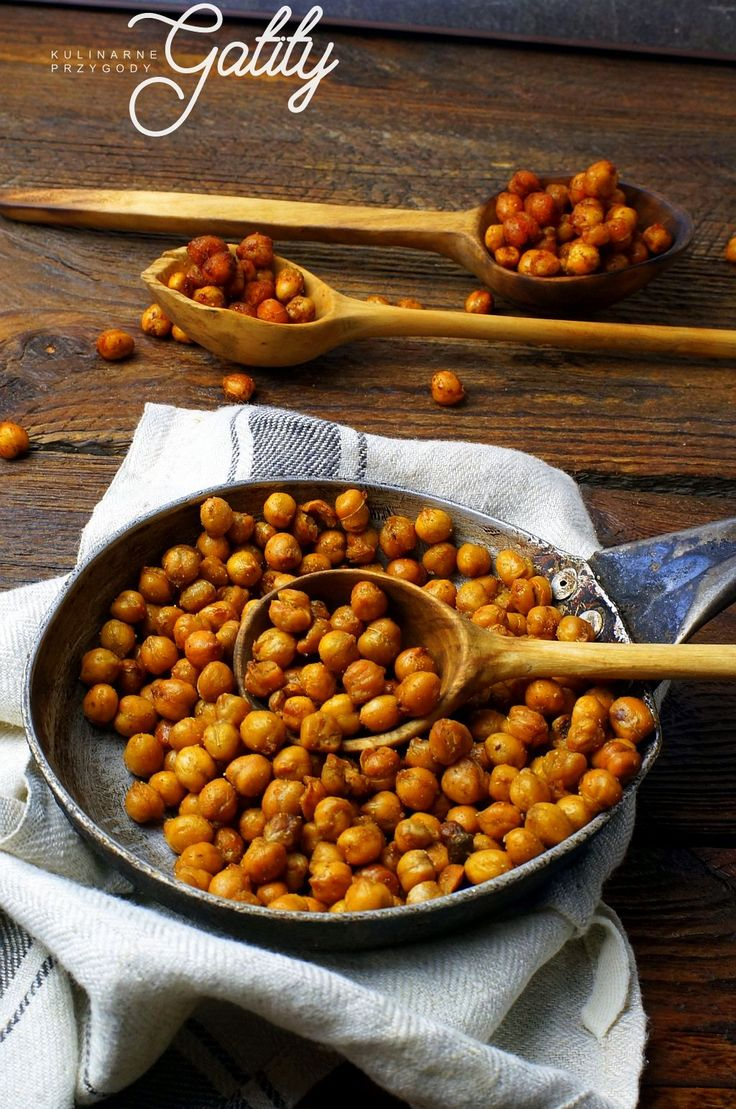 Kulinarne przygody Gatity - przepisy pełne smaku: Pieczona ciecierzyca