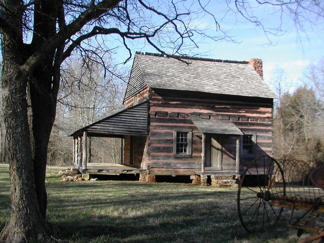 Graham Cabin at Anne Springs Close Greenway, Fort Mill, SC