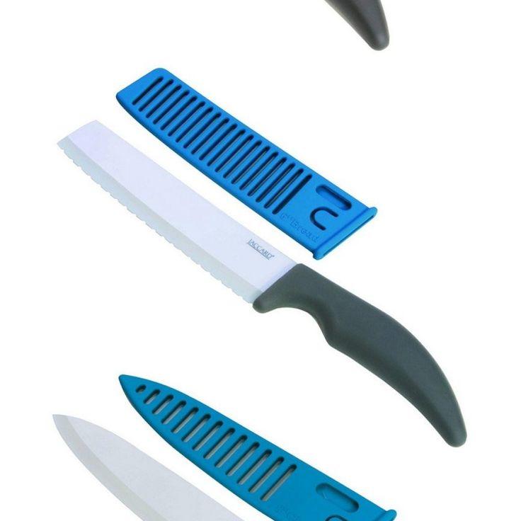 Jaccard Ceramic Kitchen Knife Set · Messer SetsKeramikKüchenPretend ...