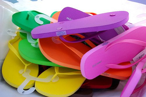 old navy flippy floppies in every color