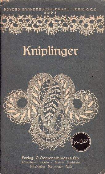 Kniplinger [Lace], O.Oehlenschlägers Eftr  Part 1 http://www.cs.arizona.edu/patterns/weaving/books/knip_lce_1.pdf  Part 2 (has multiple pricking patterns on last pages) http://www.cs.arizona.edu/patterns/weaving/books/knip_lce_2.pdf