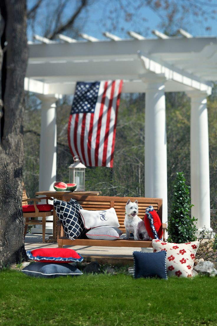 17 best images about patriotic outdoor decor on pinterest for Outdoor dekoration