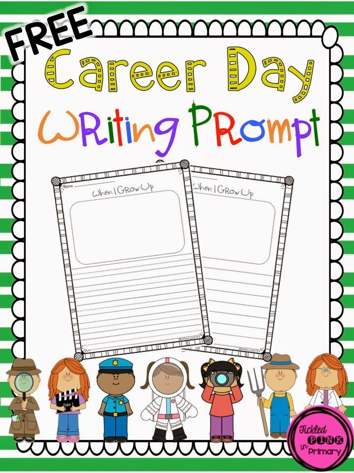 FREE writing prompt to use with a community helper unit                                                                                                                                                                                 More