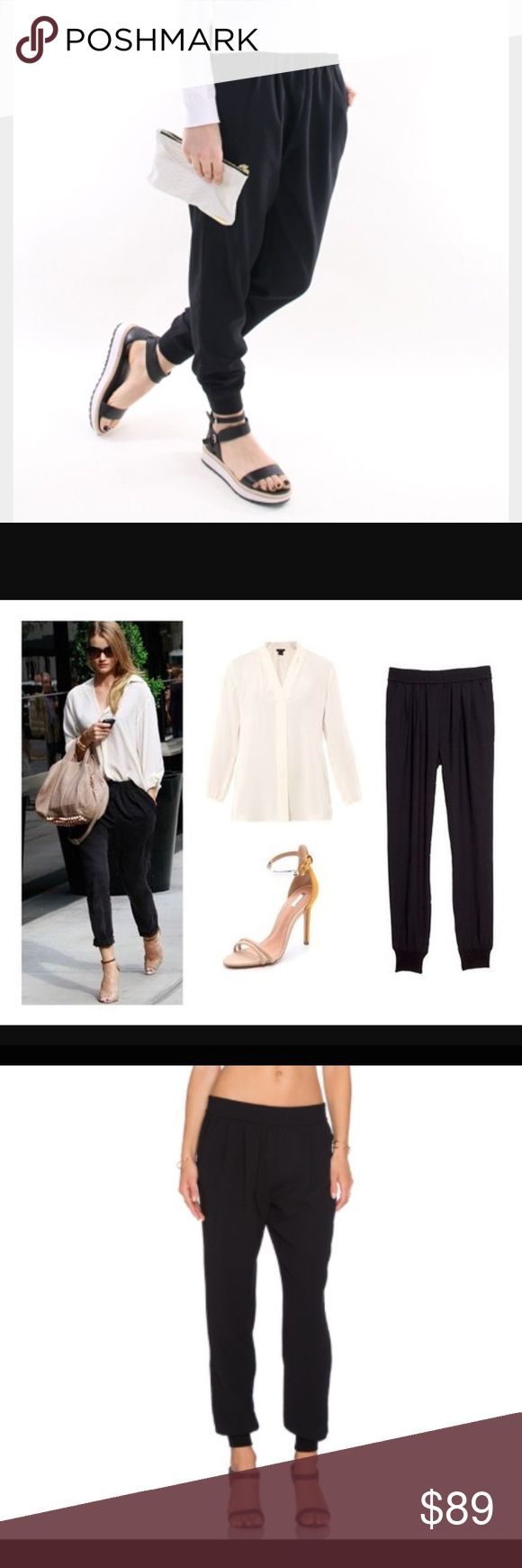 Joie mariner crop black jogger pants Never Benin worn new without tags Joie mariner jogger pants. Almost every blogger and celebrities wear them. Absolutely super comfy and stylish. Elastic waist and ankle. Size S good for S/M joie  Pants Track Pants & Joggers