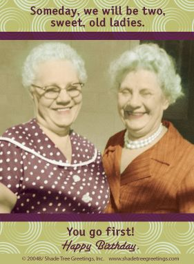 """Humorous Birthday wish from """"Actual Pictures"""" greeting card line at Shade Tree Greetings, Inc."""