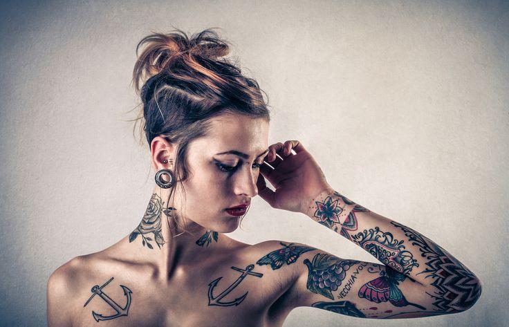 Vania, i tatuaggi e le mutazioni corporee. http://www.stilefemminile.it/mutazioni-corporee/