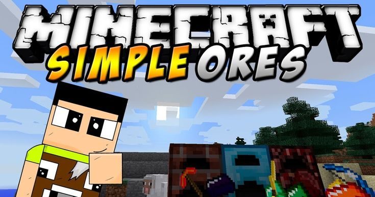 Simpleores Mod 1 14 4 1 12 2 Is A Relatively Small Mod In That It Doesnt Completely Overhaul The Minecraft Experience Add An Minecraft Mods Mod Minecraft Forge