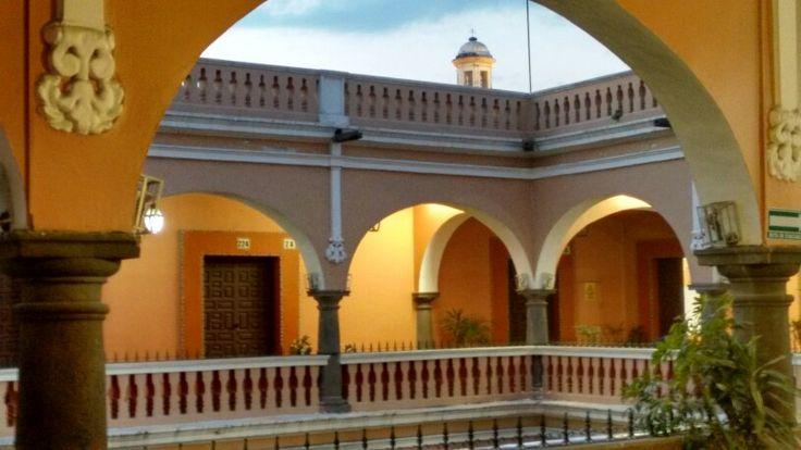 Casa de las diligencias, hoy prepa Emiliano Zapata