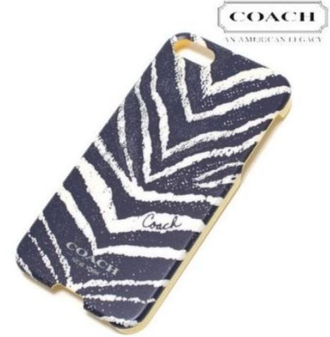 Coach【コーチ】新作★Zebra Pattern iPhone5&5S case(12025189):BUYMA (バイマ)