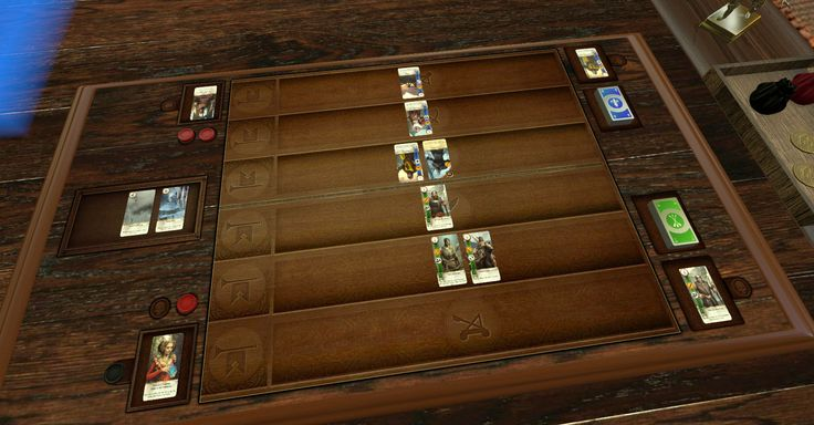 A Tabletop Simulator mod lets you play Gwent with a friend.