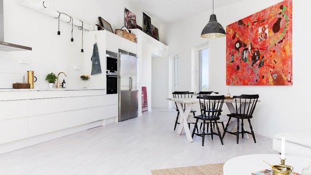 Inspiratieboost: een persoonlijke look met kunst in de keuken