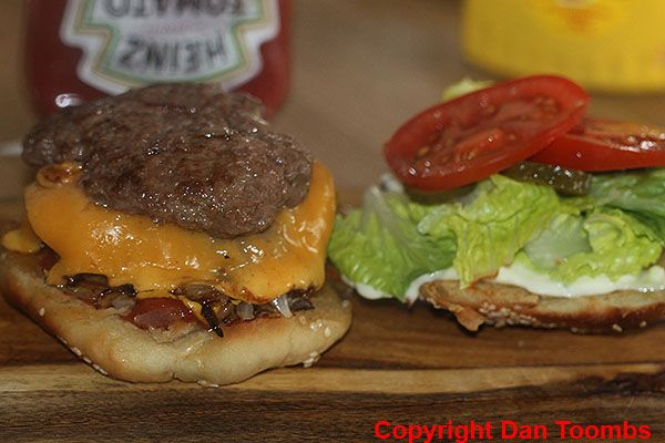 How To Make A Homemade 5 Guys Burger - Time to dig in.