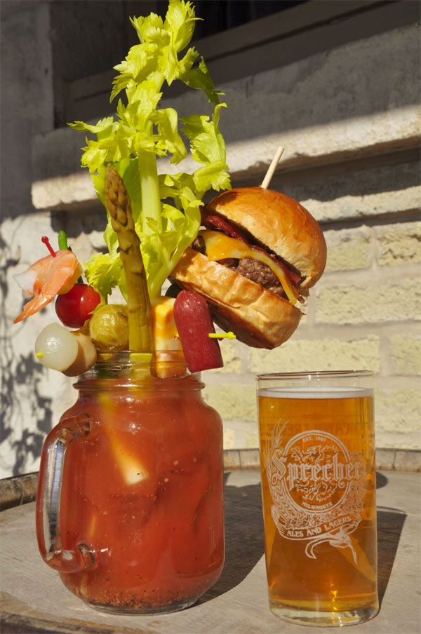 This Is What A Bacon Cheeseburger Bloody Mary Looks Like | FoodbeastFoodbeast