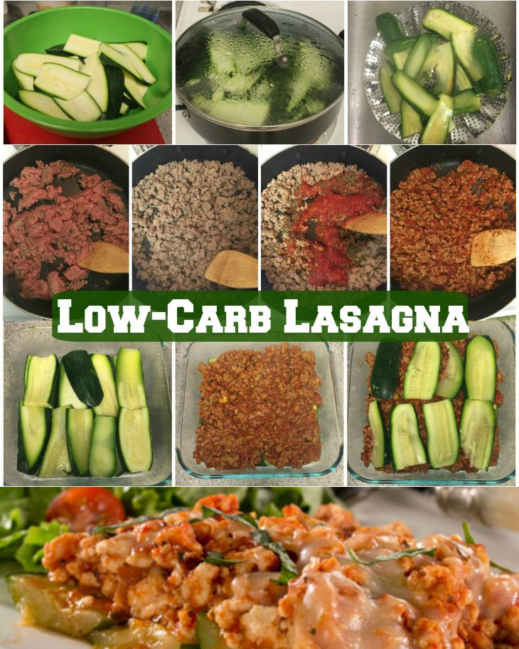 Healthy Twist Lasagna - This is the best, healthy, low-carb lasagna ...