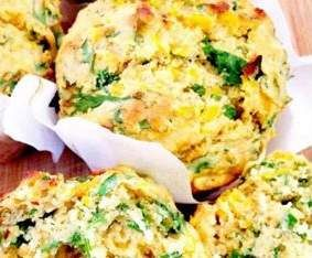 Recipe Savoury Vegetable Muffins by Candycane - Recipe of category Baking - savoury