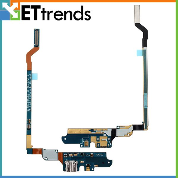 20PCS/LOT Original New USB Dock Flex Cable For Samsung Galaxy S4 SHV-E330S Charging Port Flex Cable free shipping by DHL