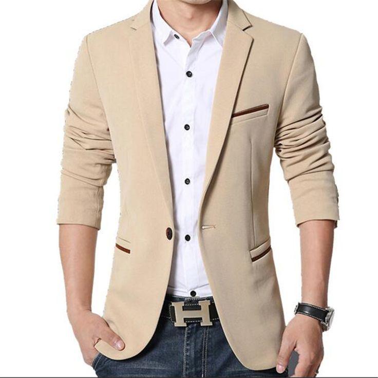 2016 male blazer casual masculine jacket men's corduroy suit men man suit thick coat blazer men suit ternos masculinos