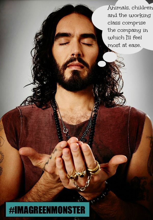 10 Quotey Quotes From the Mind of Russell Brand on Animals