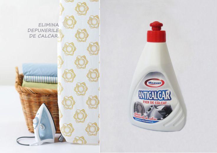 Prelungeste viata fierului de calcat cu: http://www.produse-horeca.ro/spalatorii-textile/detergenti/misavan-fier-de-calcat-500ml #curatenie #anticalcar #misavan