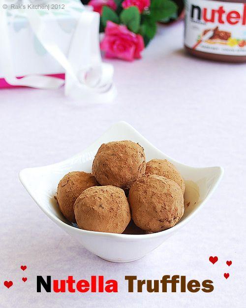 nutella truffles...