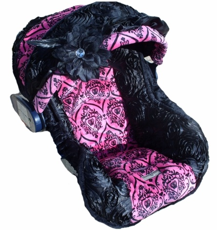 Infant Car Seat Cover in Baby Diva