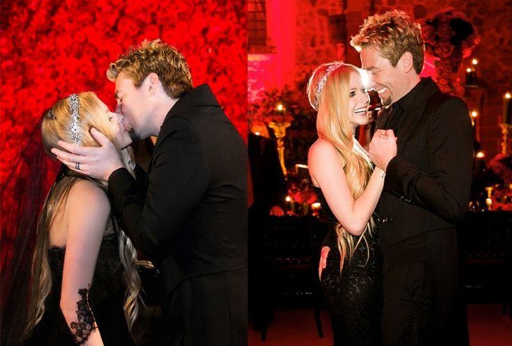 Avril Lavigne & Chad Kroeger (Nickelback) - Wedding | Chad
