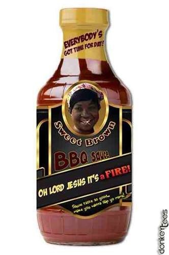 sweet brown bbq what