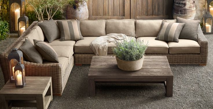 restoration hardware patio furniture | ... LIVING: What I'm Loving Now ~ Restoration Hardware Patio Furniture