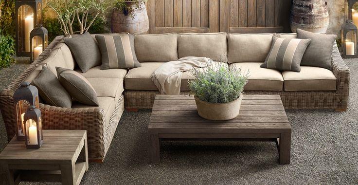 restoration hardware patio furniture | ... LIVING: What I'm Loving Now ~ Restoration Hardware Patio Furniture