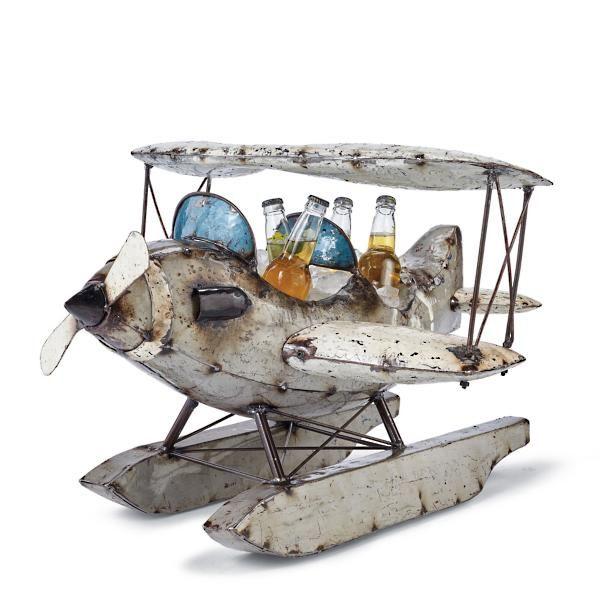Albatross Vintage Sea Plane Beverage Tub