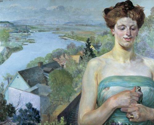 Jacek Malczewski - Wiosna (Spring) 1909