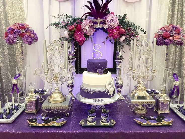 Purple And Blue Quinceanera Decorations 25+ best ideas ...