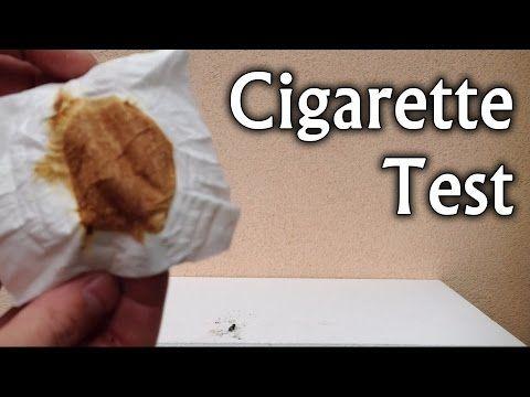 Experimente științifice acasă   #Cigarette Test #Cigarettes #effects of smoking #Health #nicotine addiction #p... #Quit smoking #quitting smoking #science experiments #science projects #Smoking #video