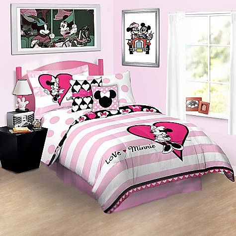18 best mickey mouse bedroom images on pinterest mickey mouse bedroom disney rooms and mini mouse - Mini mouse bedroom ...