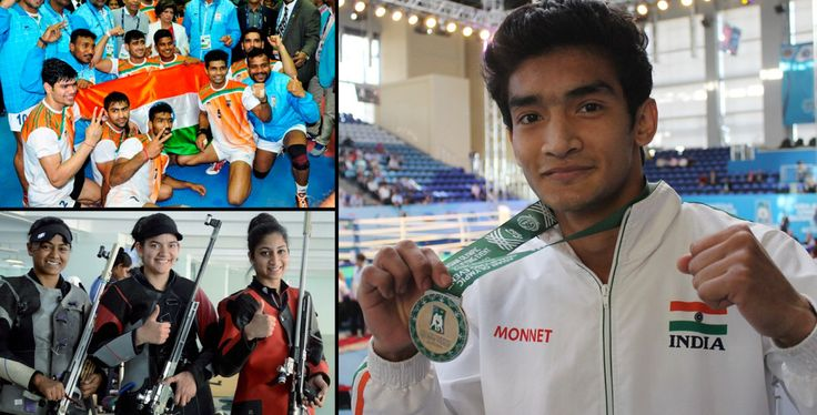 #South #Asian #Games: #India Sweep Triathlon #Gold #Medals